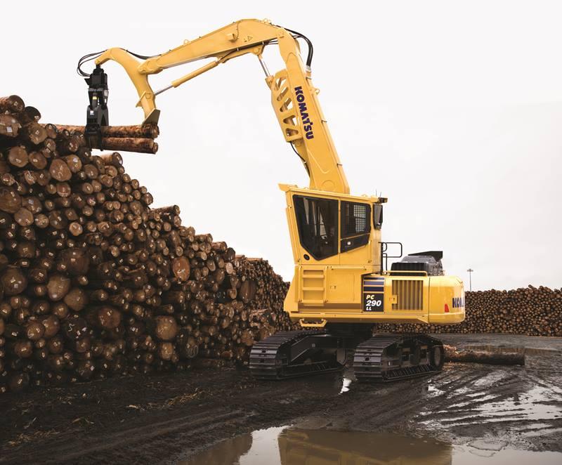 Komatsu Forestry Excavators